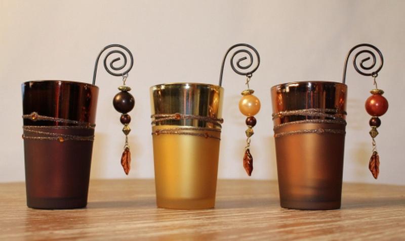 Wohnaccessoires teelichtglas gold for Wohnaccessoires katalog